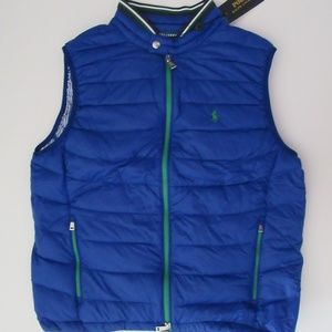 Ralph Lauren Packable Down Water Repellent Vest